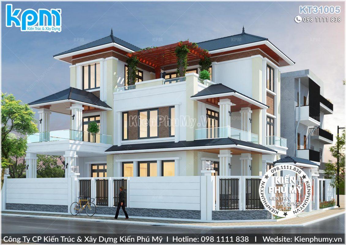 Thiết kế nhà 3 tầng đẹp, sang trọng từng chi tiết tại tp HCM