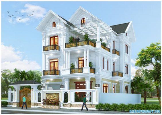 Mẫu biệt thự Pháp đẹp tại Ninh Bình