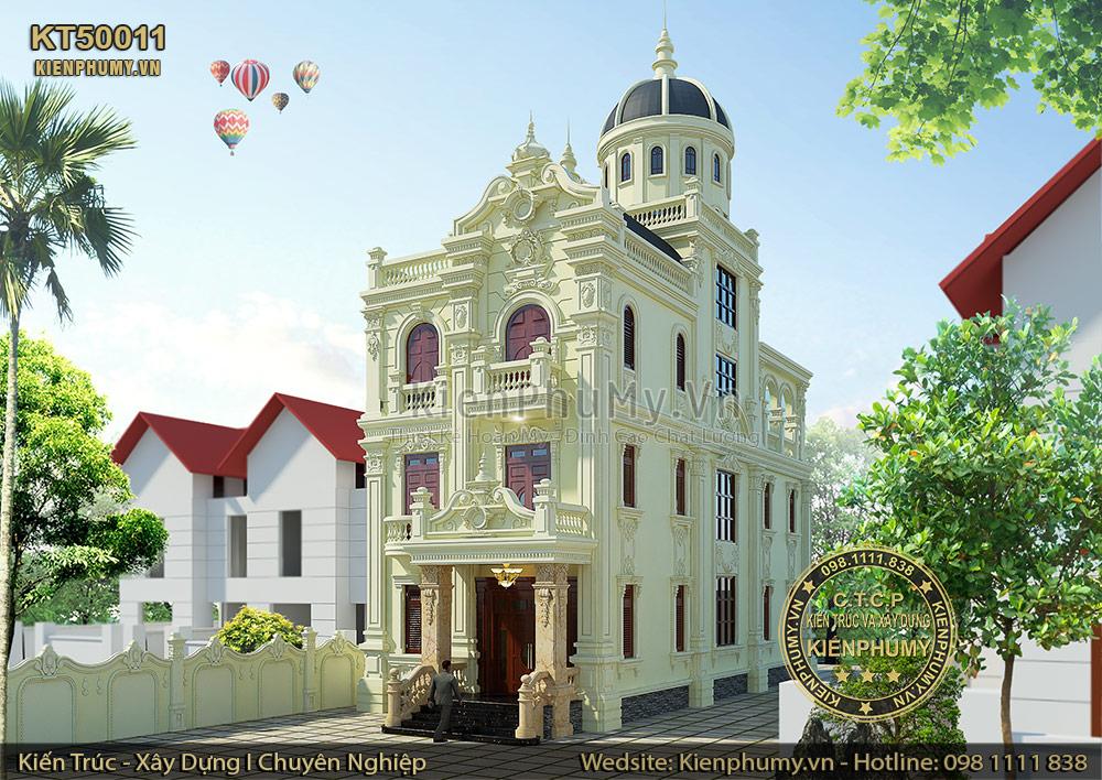 Biệt thự phố kiến trúc cổ điển mặt tiền 7m