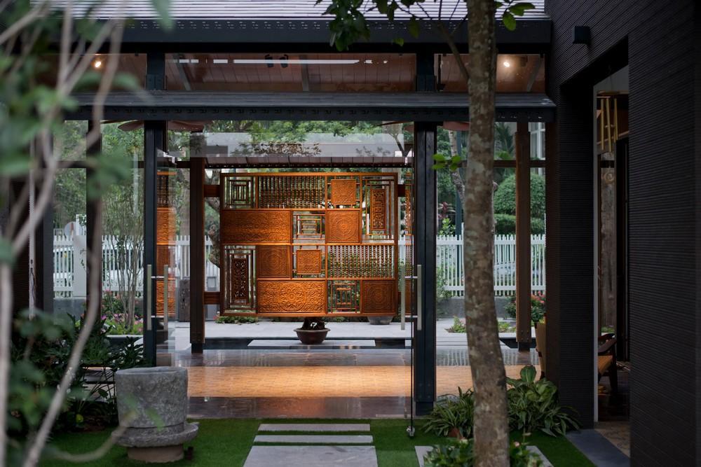 thiết kế nhà vườn truyền thống 04