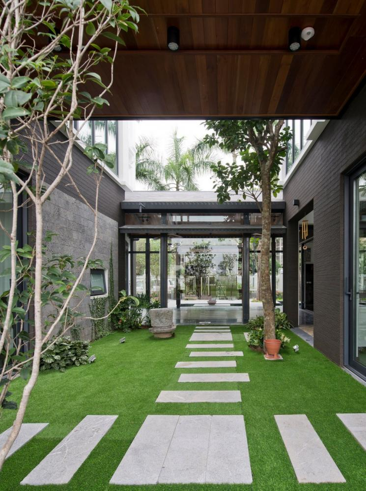 thiết kế nhà vườn truyền thống 05