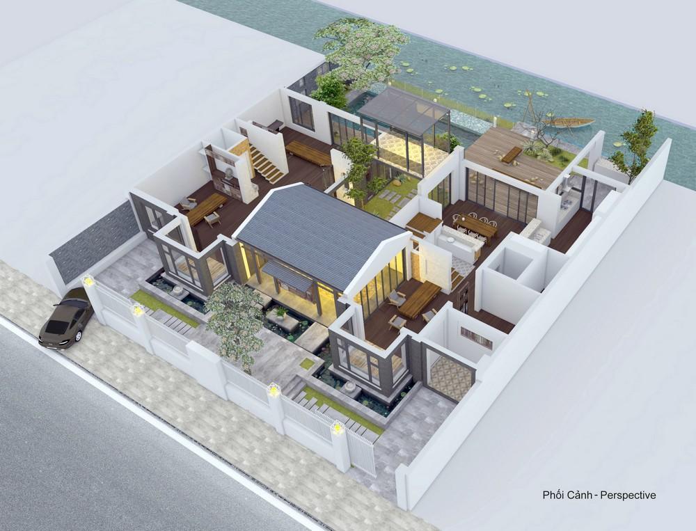 thiết kế nhà vườn truyền thống 24