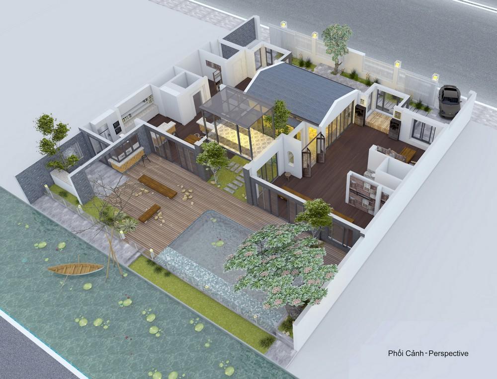 thiết kế nhà vườn truyền thống 25
