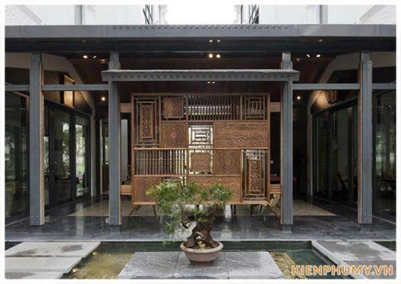 thiết kế nhà vườn truyền thống 33