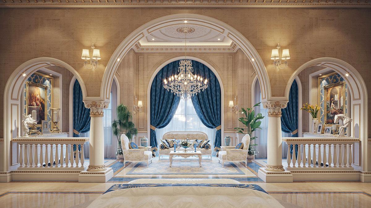 nội thất cổ điển đẳng cấp hoàng gia 10