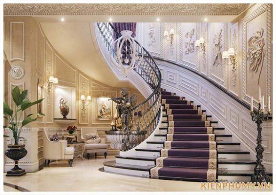 nội thất cổ điển đẳng cấp hoàng gia