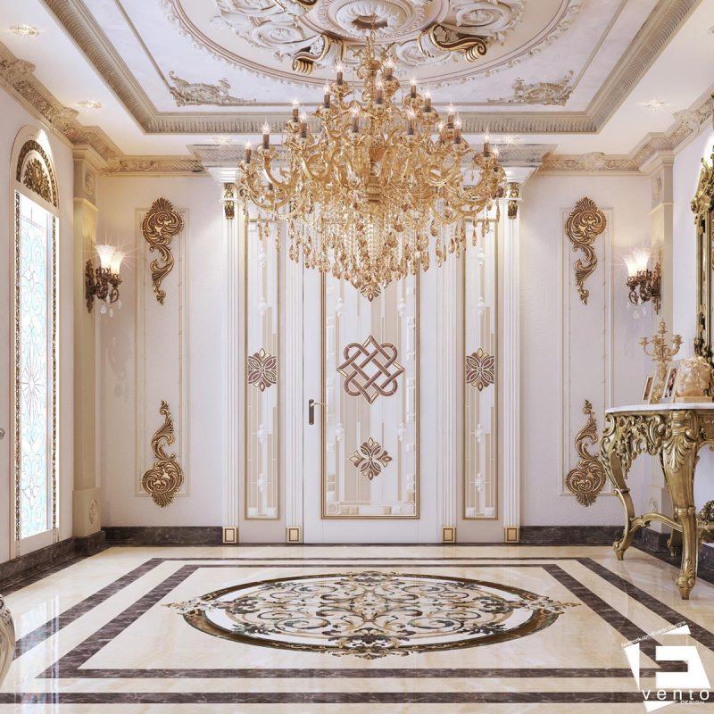 Thiết kế nội thất tân cổ điển đẹp nhất 2019-01