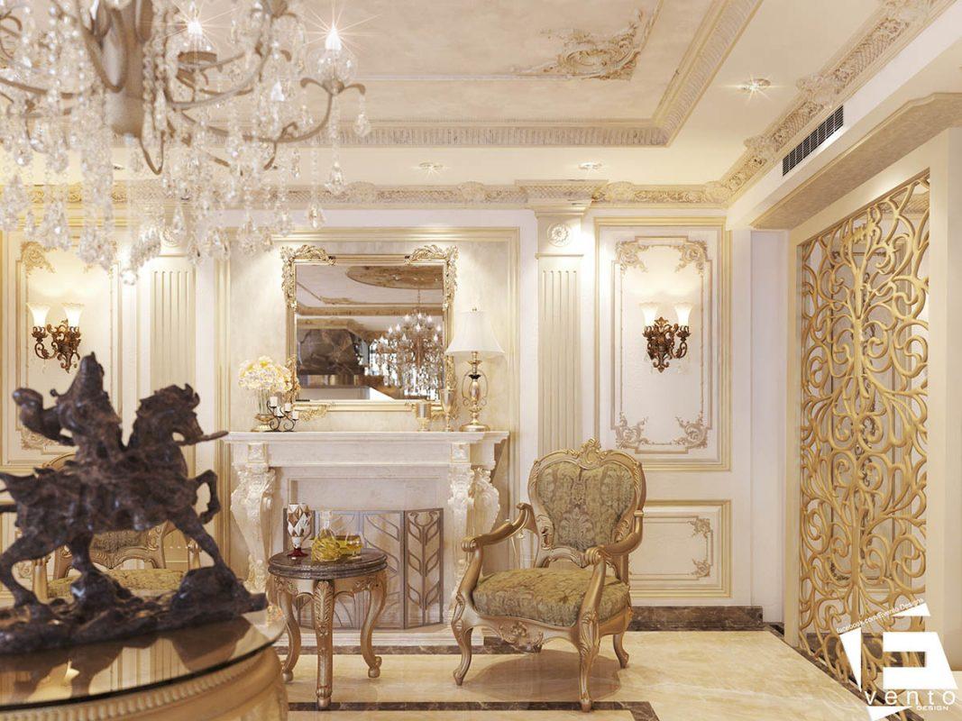 Thiết kế nội thất tân cổ điển đẹp nhất 2019-04