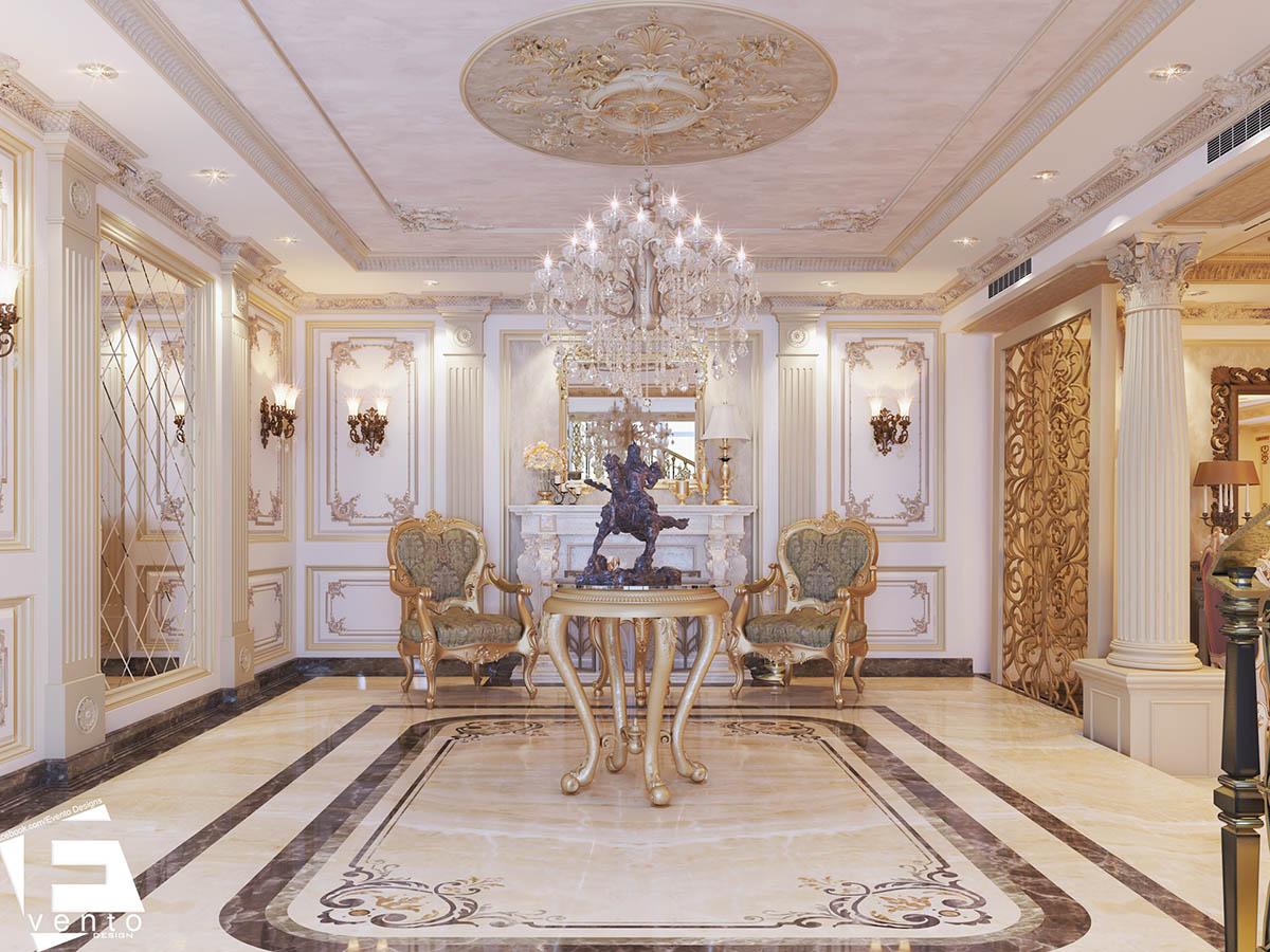 Thiết kế nội thất tân cổ điển đẹp nhất 2019-06