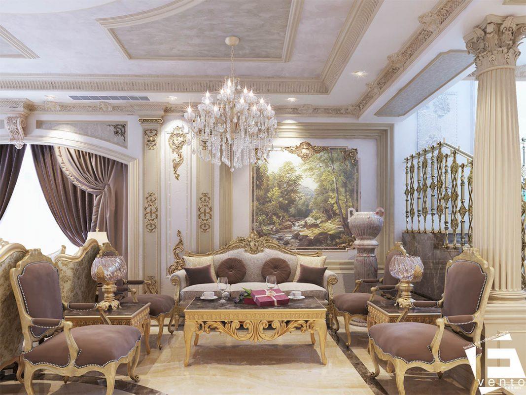 Thiết kế nội thất tân cổ điển đẹp nhất 2019-07