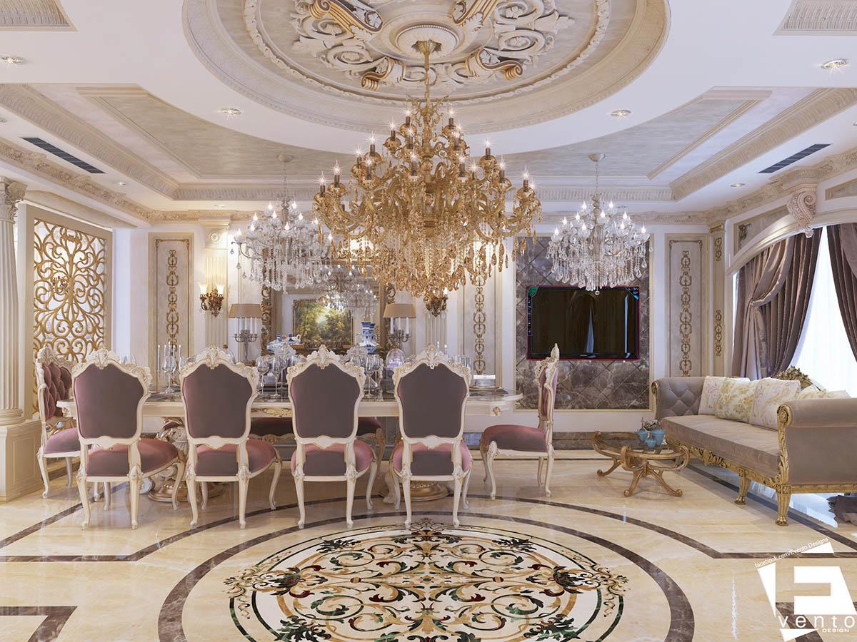Thiết kế nội thất tân cổ điển đẹp nhất 2019-10