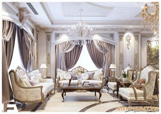 Thiết kế nội thất tân cổ điển đẹp nhất 2019