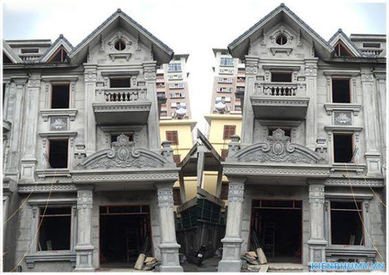 Thiết kế cải tạo biệt thự song lập kiến trúc cổ điển 01