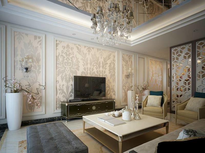 thiết kế nội thất nhà phố đẹp phong cách cổ điển 04