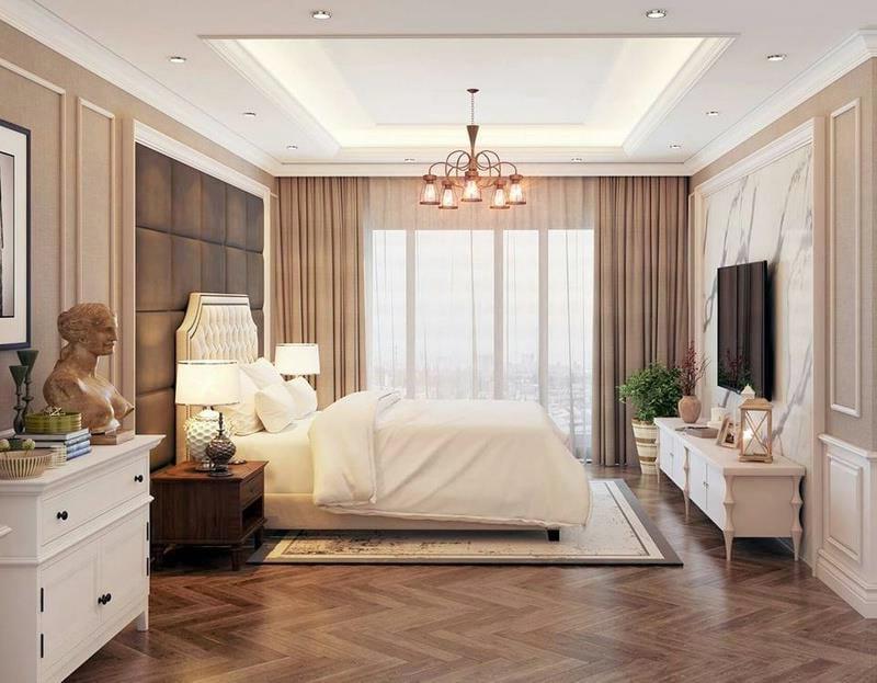 thiết kế nội thất nhà phố đẹp phong cách cổ điển 09