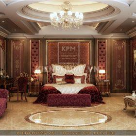 Thiết kế nội thất phòng ngủ tân cổ điển đẹp-02