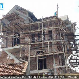 Công ty chuyên thi công biệt thự cao cấp cổ điển tại Hà Nội