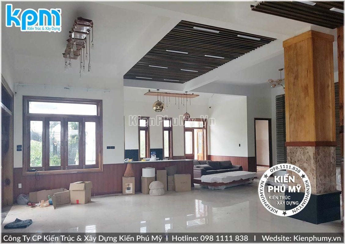 Thiết kế thi công biệt thự 2 tầng mái thái uy tín chuyên nghiệp-07
