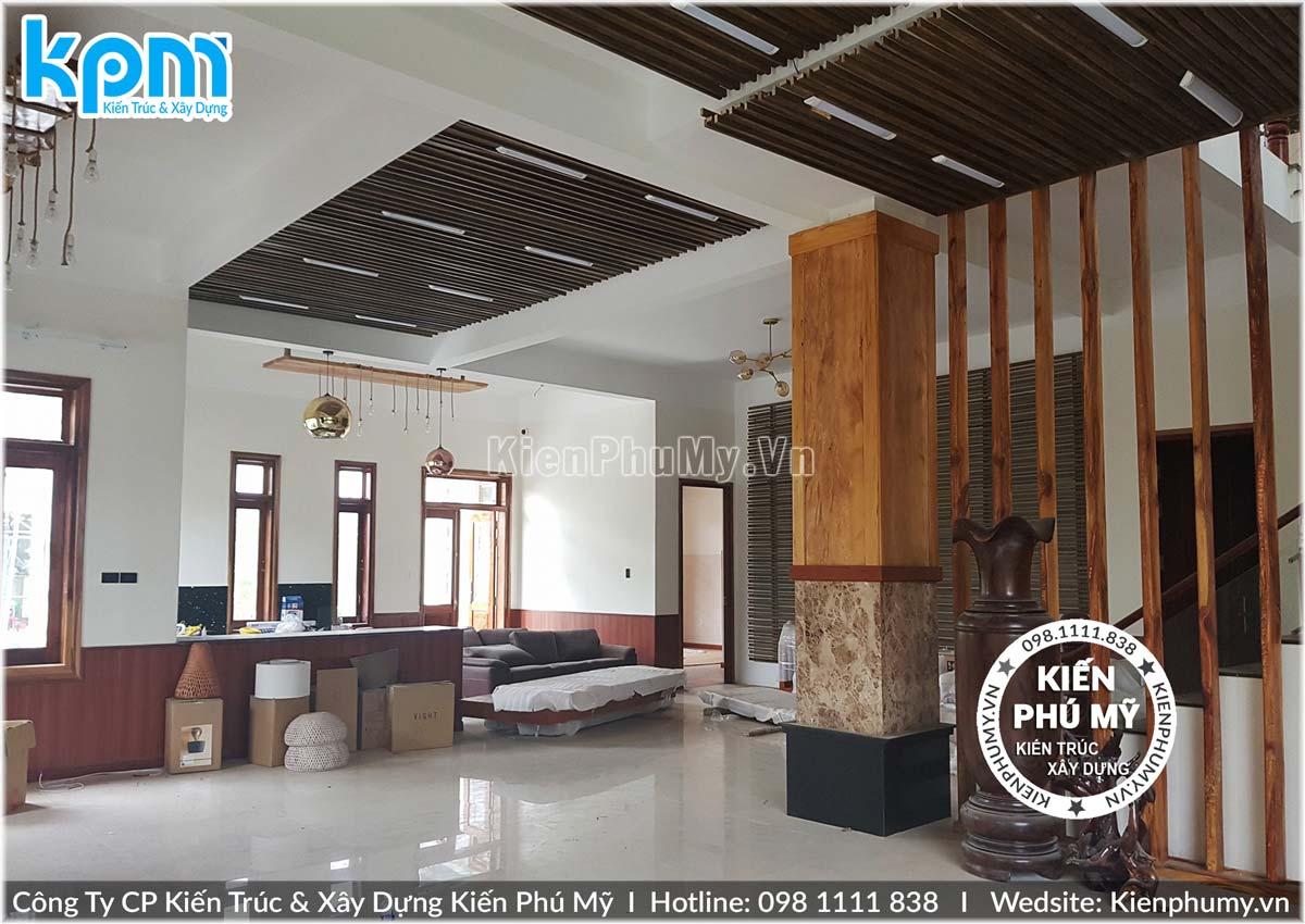 Thiết kế thi công biệt thự 2 tầng mái thái uy tín chuyên nghiệp-13