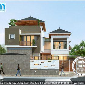 Thiết kế biệt thự 3 tầng hiện đại theo xu hướng mới nhất