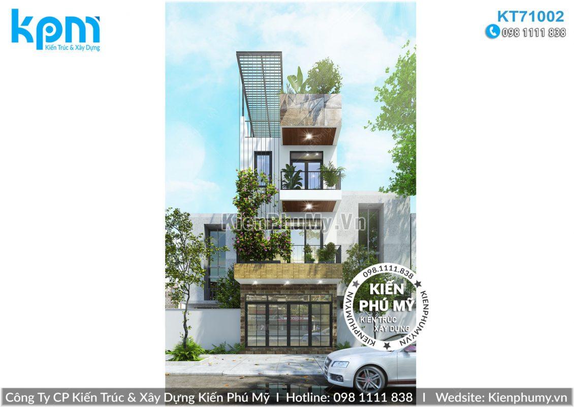 mẫu mặt tiền 5m nhà lô phố hiện đại 3 tầng đẹp