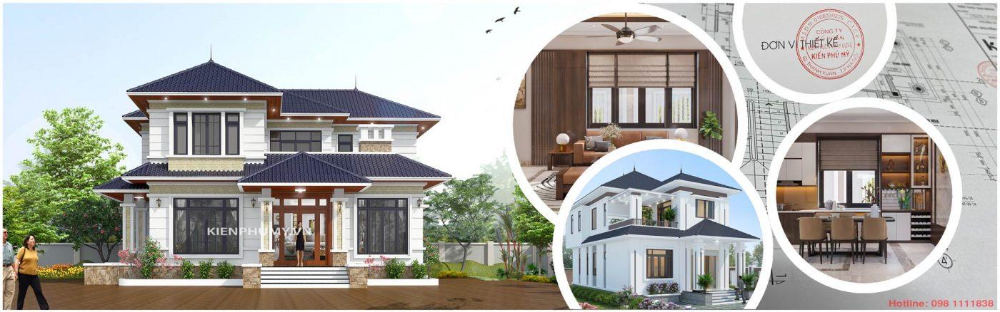 Thiết kế nhà đẹp-Kiến Phú Mỹ