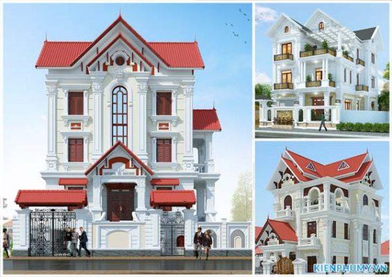 20 mẫu nhà mái thái 3 tầng đẹp nhất