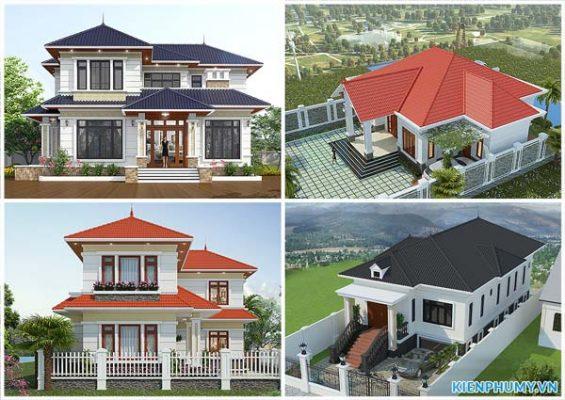 thiết kế nhà ở nông thôn đẹp