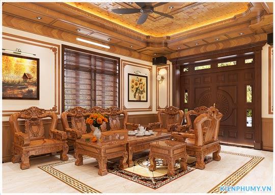 thiết kế nội thất gỗ tự nhiên đẹp