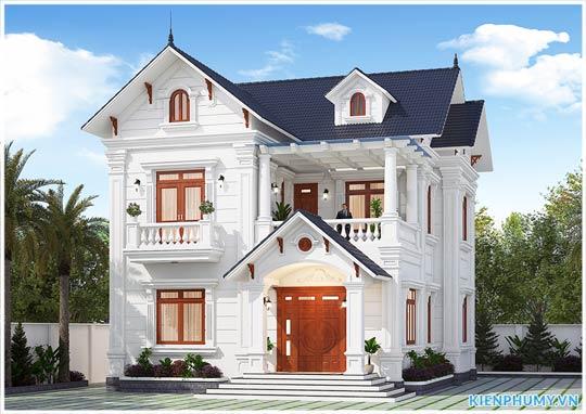 biệt thự đẹp 2 tầng tại Hà Nam